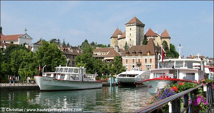 Photos et infos sur la ville d 39 annecy en haute savoie for Jardin du chateau annecy
