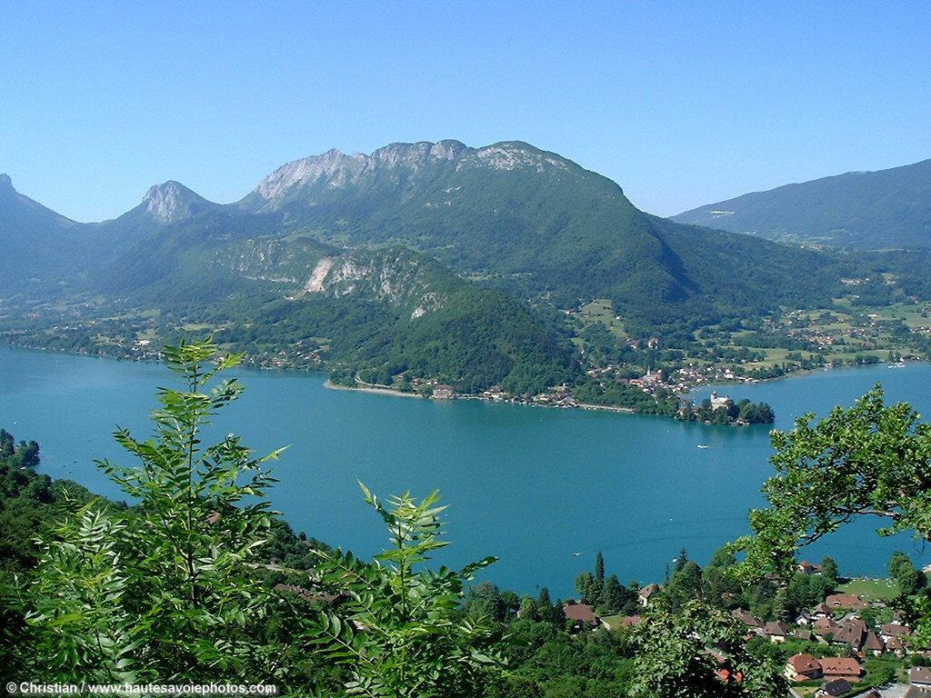 France Lac Et Ville D Annecy