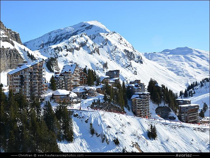 Photos de la station de ski d 39 avoriaz en haute savoie - Avoriaz office de tourisme ...