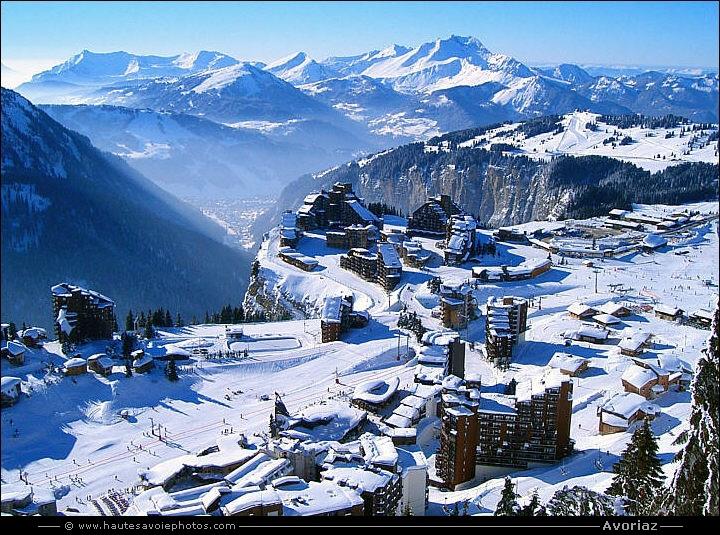 Photos de la station de ski d 39 avoriaz en haute savoie - Office du tourisme morzine haute savoie ...